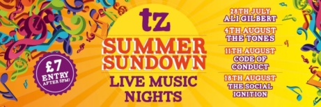Join us for our Summer Sundown nights for just £7.00 per person!