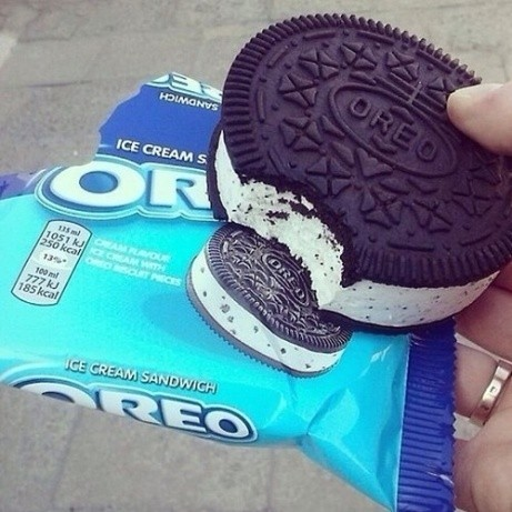 The only treat you need in this heatwave: Oreo Ice Cream Sandwich just £3.00!