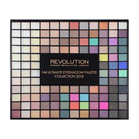 50% OFF - Revolution Ultimate 144 Eyeshadow Palette 2018!