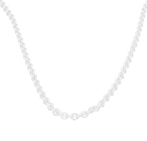 Sterling Silver 18″ Belcher Chain/ Necklace (2mm Wide) - £19.99!
