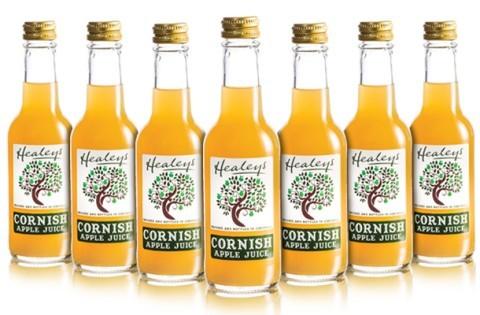 Our range of award winning Cornish Juice is simply devine - £16.80 6 X 750ml Bottles