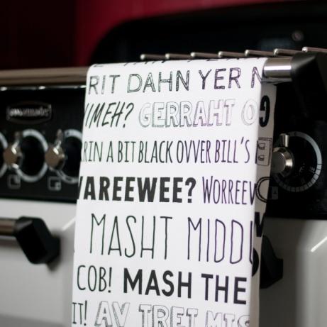 Nottingham Phrases Tea-Towel - £10.00!