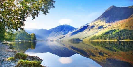 56% OFF -  Cumbria Riverside Stay for 2 with Dinner!