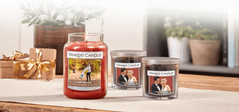 SAVE £10.98 - 2 FOR £45.00 Personalised Large Jar Candles!