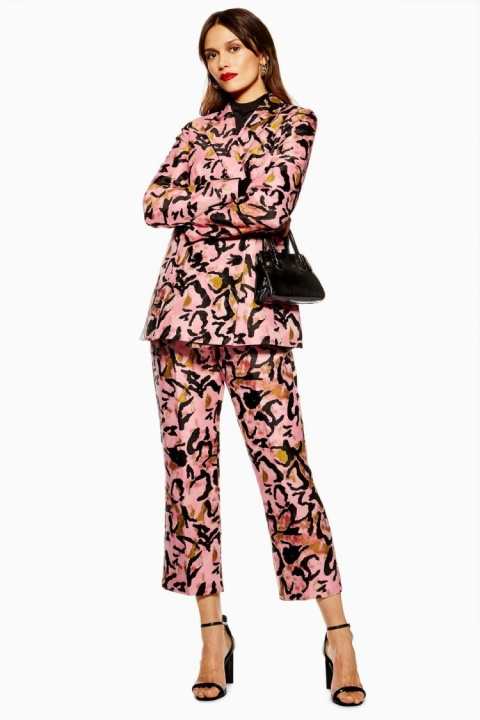 SALE, GET £29.00 OFF - Animal Jacquard Trousers!