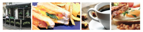 Look forward to lunch - served everyday until 4:00 pm!