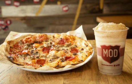 Enjoy one of our freshly made pizzas today - like the 'Dillon James' £7.47!