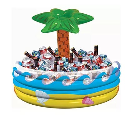 Large Tropical Palm Tree Inflatable Drinks Cooler - ONLY £10!