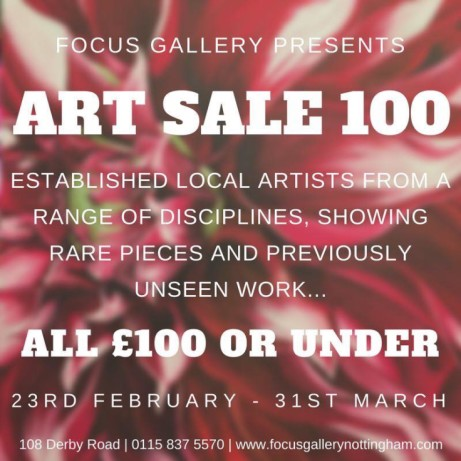 We still have our Art Sale 100 on til March 31st.