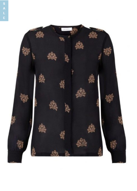Save 50% on this Intropia Silk Patterned Blouse