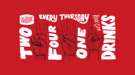 EVERY THURSDAY NIGHT: 2-4-1 DRINKS AND POP/HOUSE/RNB ALL NIGHT LONG!