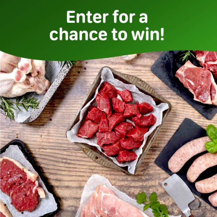 WIN the Fresh Midweek Meatbox - Packed with sausages, steak, bacon and more!