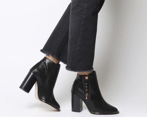 BIG WINTER SAVINGS - Affluent Heel Side Zip Boots!