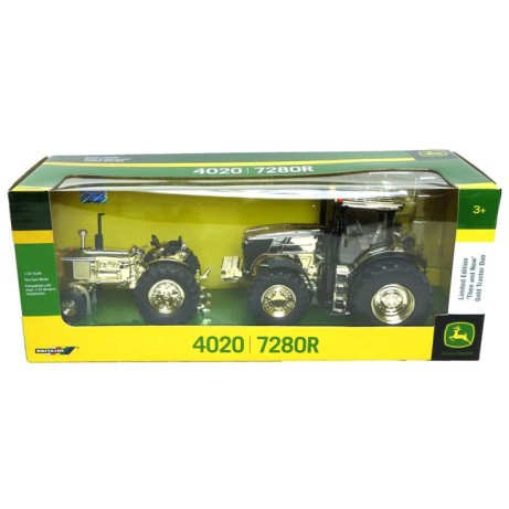 Save £28 on this Limited Edition John Deere 'Then and Now' Gold Tractor