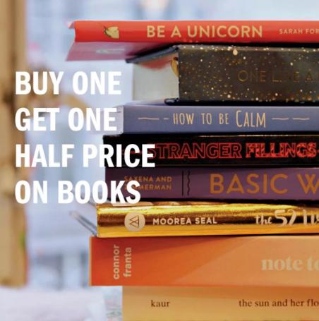 Books, Self Help Books & Travel Books - Buy 1, Get 1 HALF PRICE!