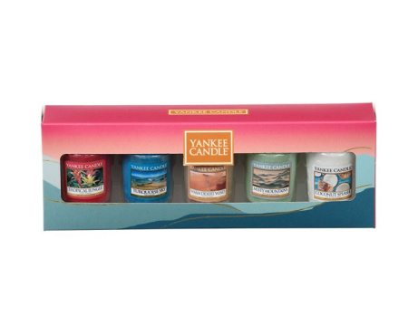 SAVE 30% on Yankee Candle - 5 scented votive candle gift set!