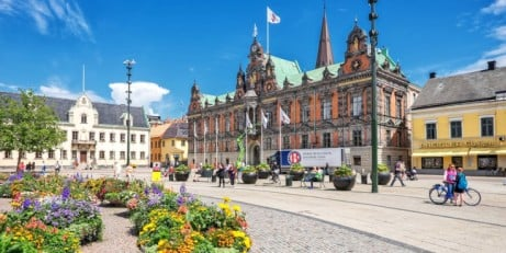 Sweden & Denmark city hop with flights & trains for £349 per person
