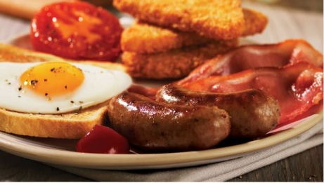 UNLIMITED Breakfast + Tea or Costa Coffee Only £9.50!!