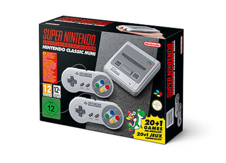 Pre-Order the Mini SNES for only £79.99