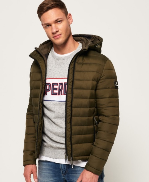 GET WARM: Fuji Double Zip Hooded Jacket - £79.99!
