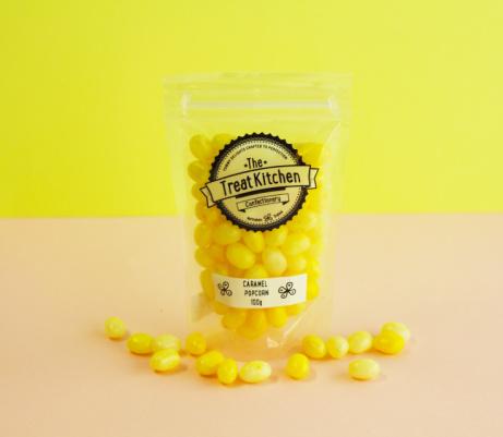 Caramel Popcorn Jelly Beans pouch - £2.95!