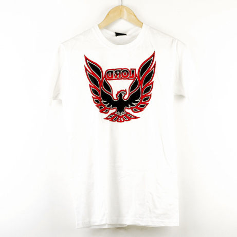 SAVE 50% on this Lord Firebird Tee White!