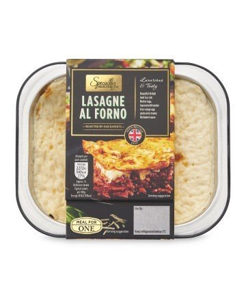 Lasagne al Forno: £2.69!