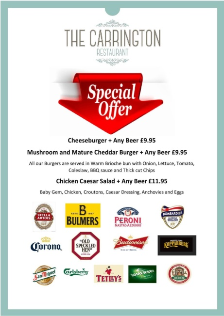 Don't miss our Latest Offers! - Delicious Fresh Food at Delicious Prices!