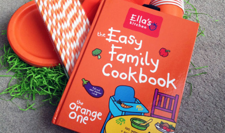 FREE Easy Family COOKBOOK when you spend £10 on selected Ella's Kitchen!