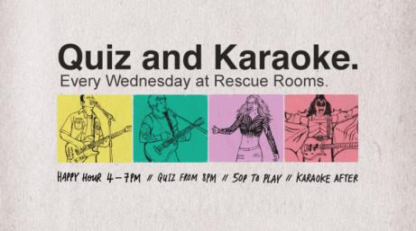 Join us for Quiz & Karaoke Night tonight!