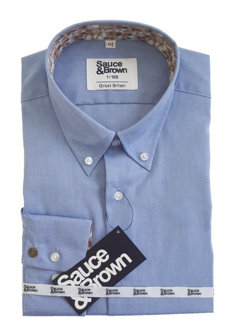 Only 4 remaining - Chambray Shirt £30.00!