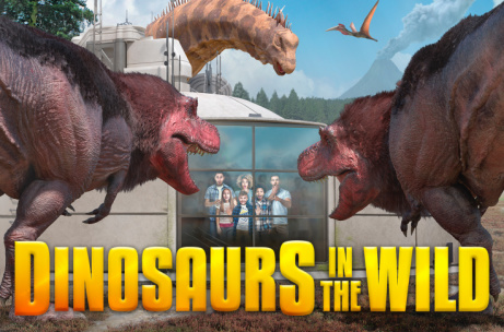40% OFF -  Dinosaurs in the Wild tickets!