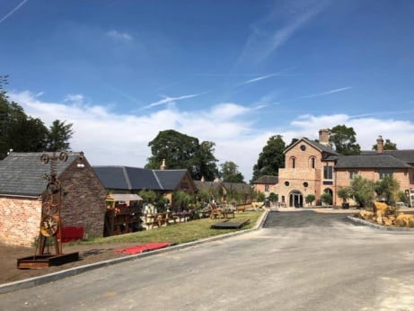 We've had a fantastic day at the launch of the new retail village Engine Yard at Belvoir Castle!