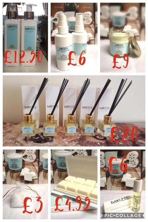 Check out the Darcey's full range of luxury products 😍
