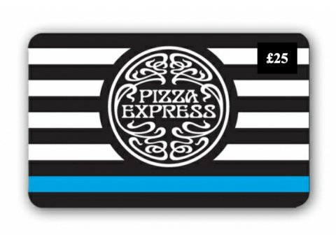 WIN - £25 Pizza Express Gift Card