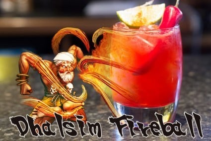 This Thursday: Our Street Fighter Tournament -  Plus we'll be launching our new 'Dhalsim Cocktail!