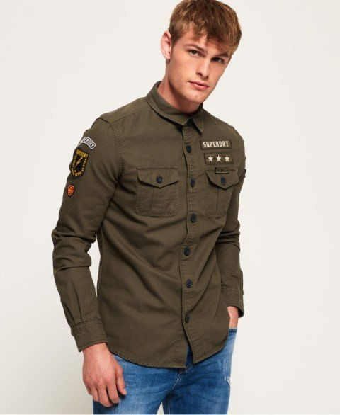 GOING OUT - Miltary Storm Shirt £59.99!