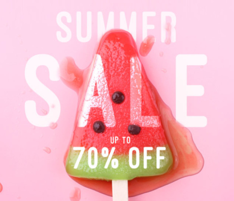 SAVE up to 70% in our Summer Sale!