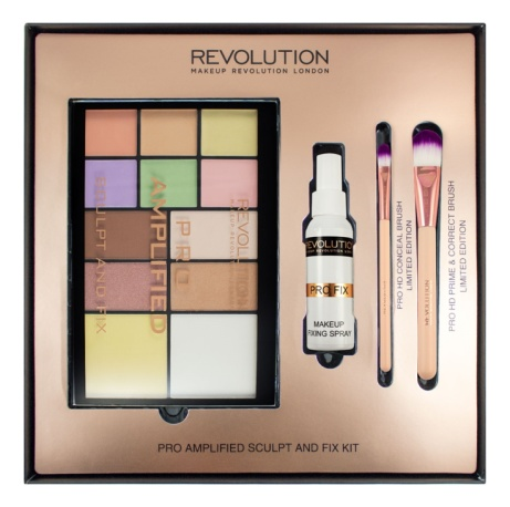 SAVE 67% on this Revolution Amplified Sculpt and Fix Palette!