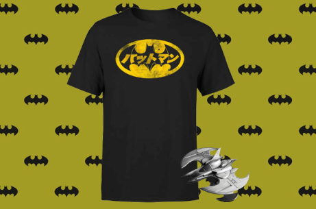 SAVE 50% on this Batwing Metal Replica + Get a FREE T-Shirt!