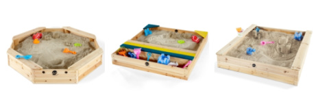 Save up to 24% on sandpits at Uber Kids from only £59.99!