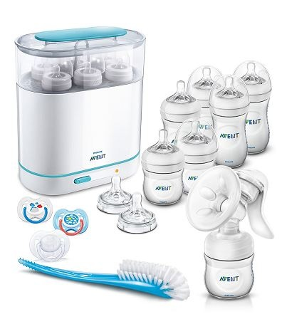 SAVE 50% OFF Philips Avent complete natural starter set - clear! *exclusive to mothercare*