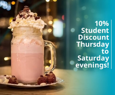 You can get our Student Discount until 11pm Tonight