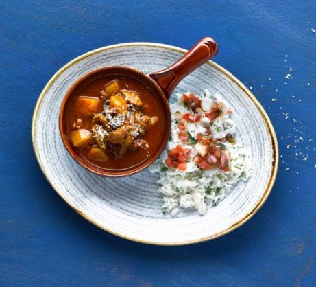 Get a taste of the island life with our warming Caribbean Curry