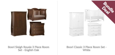 SAVE 10% on Boori 3-Piece Nursery Furniture!