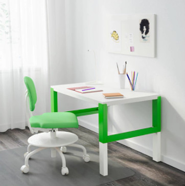 Study our children's desks and chairs! - Including this Green and White Desk £40.00!