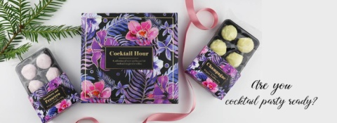 Host your very own cocktail party with these delicious truffles!