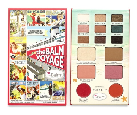 SAVE £20 on The Balm Voyage Face Palette Vol.2!