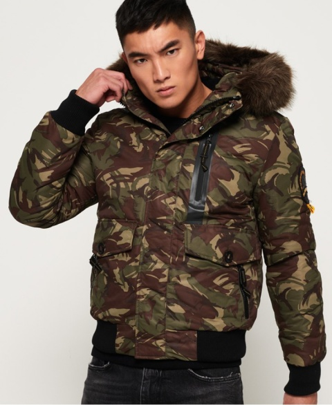 STAY WARM - Everest Bomber Jacket £119.99!