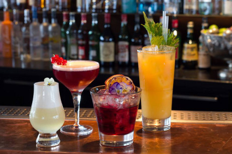 Happy Hour from 5-8pm at Four Hundred Rabbits!